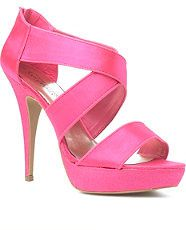 sandales satin fuchsia new look 24.99£