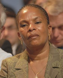 Christiane Taubira - Royal & Zapatero's meeting in Toulouse