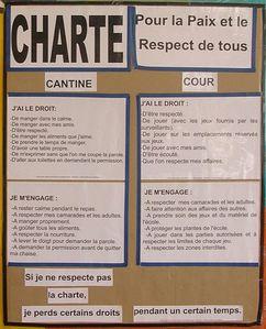 charte école primaire Bastide Haute juin 2011