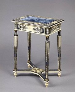 Table trianon porcelaine