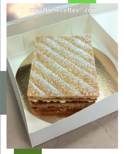 Millefeuille made in Ritz by MLR