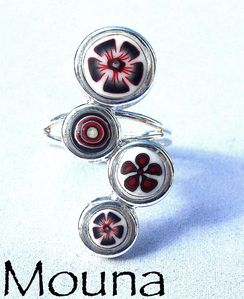 Bague Raide de red 3 DISPONIBLE: 15 euros.