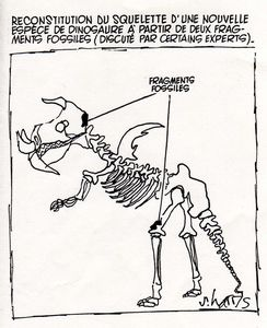 fossile dinosaure
