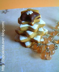 Gingerbread Chocolate Orange Stars-3
