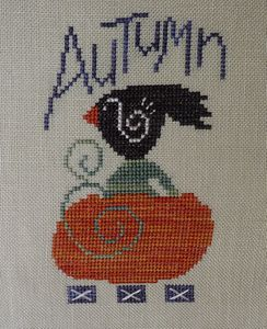 autumn crow samsarah design