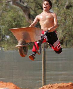 Wheelbarrow jump