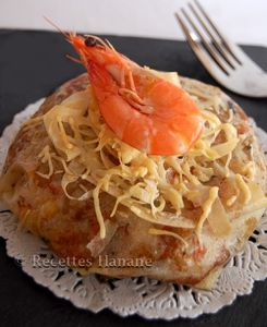 pastilla aux crevettes