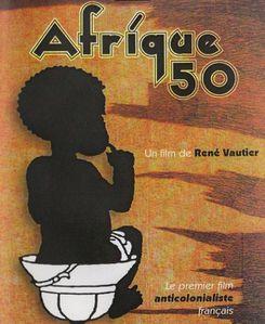 Affiche Afrique 50