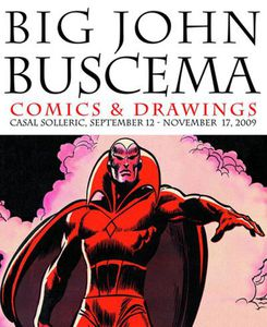 buscema comics drawings