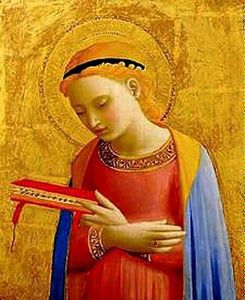 Fra Angelico - Vierge Annonciation