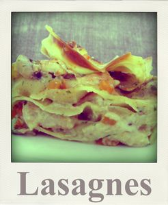 Lasagnes maison