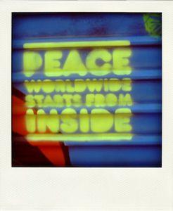 peace worldwide from inside
