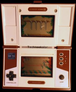 Game & Watch Donkey Kong II Mars 1983