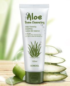 aloe foam auc