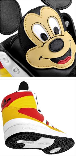 adidas jeremy scott mickey
