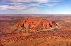Australie colline d'Uluru