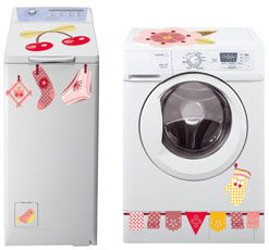 Stickers pour nos machine a laver le blog de lafolleguirlande - Linge sent mauvais apres machine ...