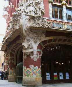 Barcelone - mars 2004 (068) Palau de la musica