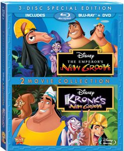 The Emperor's New Groove + Kronk's New Groove (Three-Disc S