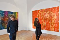 Art-contemporain-Exposition-Caillol-Peinture-From-point-to-