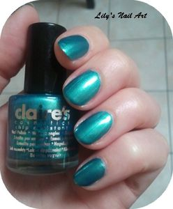 Claire's turquoise