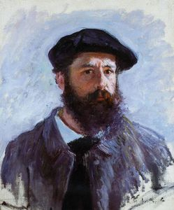 autoportrait au bret - 1886