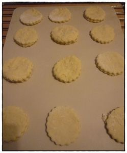 scones avant cuisson