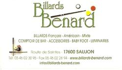 Billards BENARD