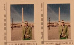 FR13 - 75 PARIS Lost in Paris timbres