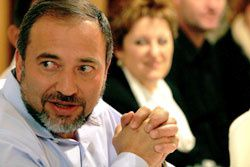 Interview du leader d'Yisrael Beitenu; Avidgor Lieberman