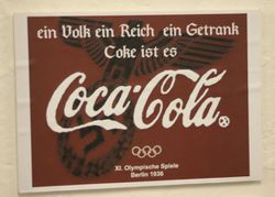 coca-cola olympic games in berlin 1936