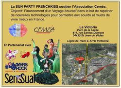 sun party french kiss