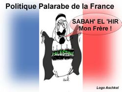 politique arabe de la france