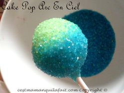 cake pops arc en ciel facile rainbow cake pops (6)