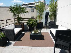 Terrasse tapis & mobilier d'extérieur Bambous palmier
