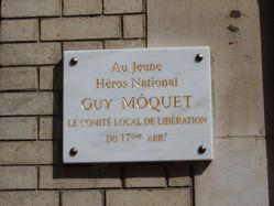 Guy Môquet rue Baron 02 plaque