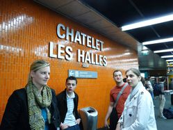 métro chatelet