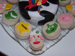 Gateaux individuels personnages Toy Story9