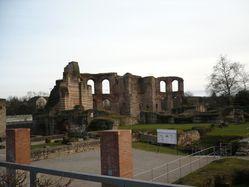06 Les ruines des thermes romaines à Trier