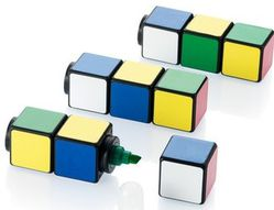 16 surligneur rubik s cube support communication