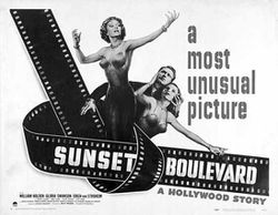 Sunset Blvd. Affiche 1