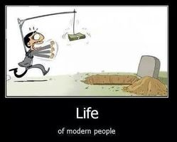 life of modem people