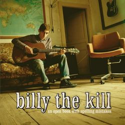 Billy The Kid - An open book with spelling mistakes