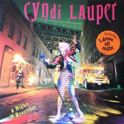 Cindy Lauper - A night to remember 33T
