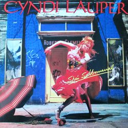 Cindy Lauper - She's so unusual 33T