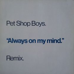 Pet Shop Boys - Always on my mind M45T (remix)