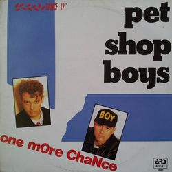 Pet Shop Boys - One more chance M45T