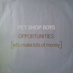 Pet Shop Boys - Opportunities M45T (remix)
