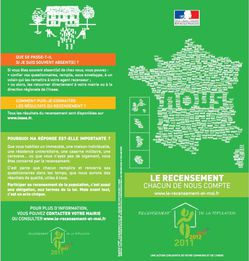 recensement 2011 recto