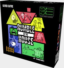 Rumble in the House -Boite jeu